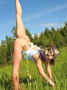 Hot erotic posing