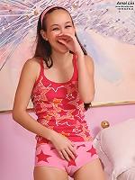 Sweet Amai Liu Exposing Herself