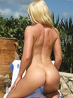 Laura King in the Tropical Sun