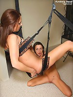 Kymberly Wood Rides a Sex Swing