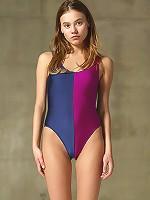 Ksenia Two Tone Malibu Swimsuit