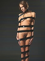 Silvie Black Bondage