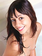 Nubiles.net Pebbles - Hot sexy amateur posing her wet body in the bathtub with water flowing through her juicebox
