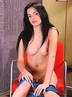 Nubiles.net Larisa - Nubile bookworm stops studying long enough to pleasure her shaved pussy