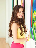 Nubiles.net Bailey Bam - Nubile temptress in long socks pounds her juice box with a vibrator