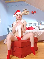 Russian Christmas pussy
